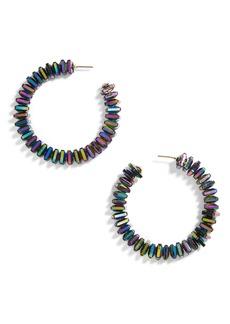BaubleBar Clarisse Hoop Earrings