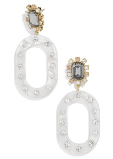 BaubleBar Crystal Burst Drop Earrings