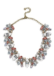 BaubleBar Crystal Cluster Holiday Necklace