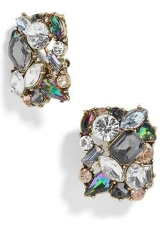 BaubleBar Crystal Cluster Stud Earrings