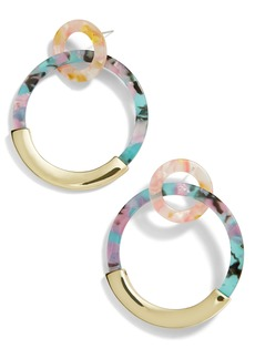 BaubleBar Daniya Hoop Earrings