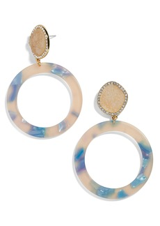 BaubleBar Devinne Hoop Earrings