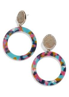 BaubleBar Devinne Hoop Earrings