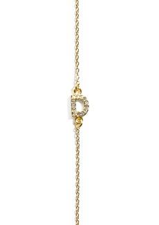BaubleBar Diamanda Letter Necklace