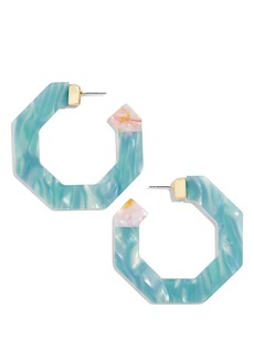 BaubleBar Diem Hoop Earrings