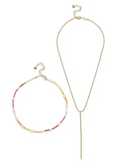 BaubleBar Dina Set of 2 Necklaces