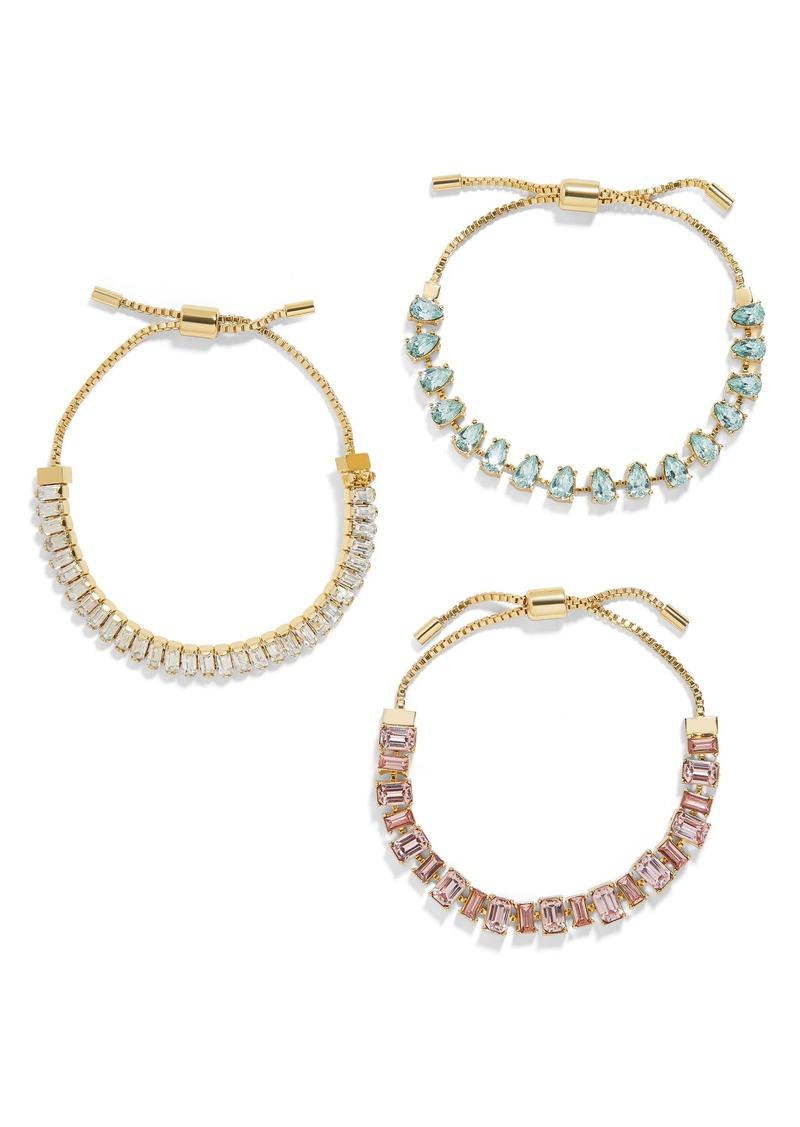 BaubleBar Dominique Set of 3 Bracelets