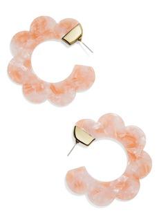 BaubleBar Dorine Hoop Earrings