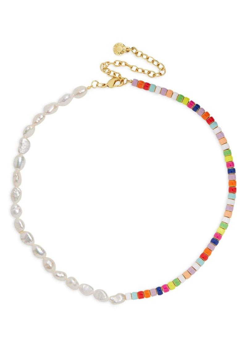 "BAUBLEBAR Ellie Multicolor Collar Necklace, 14"""