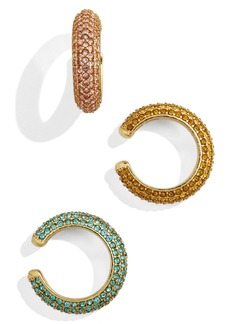 BaubleBar Elsa Set of 3 Ear Cuffs