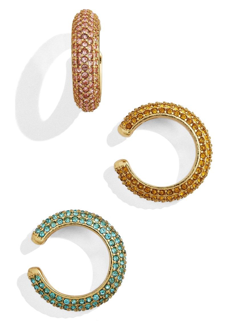 BaubleBar Elsa Set of 3 Ear Cuffs