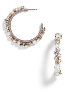 BaubleBar Elysian Hoop Earrings