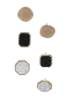 BAUBLEBAR Elzina Earrings, Set of 3
