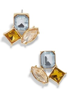 BaubleBar Emalia Crystal Stud Earrings