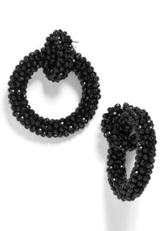 BaubleBar Emily Beaded Hoop Earrings