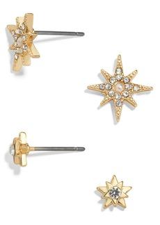 BaubleBar Empyrean Set of 2 Stud Earrings