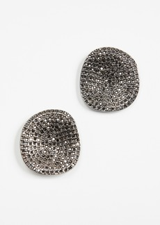 BaubleBar Encrusted Acrylics Stud Earrings