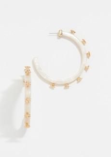 BaubleBar Estee Hoop Earrings