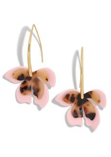 BaubleBar Orchid Drop Earrings