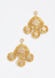BaubleBar Fringe Chandelier Earrings