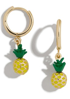 BaubleBar Fruit Drop Huggie Earrings