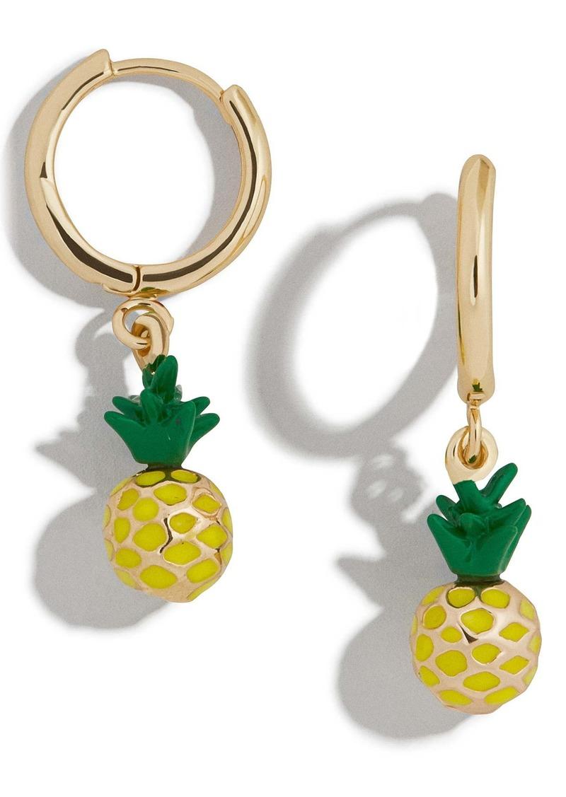 BaubleBar Fruit Drop Huggie Earrings