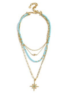 BaubleBar Galexia Layered Necklace