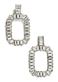 BaubleBar Gena Crystal Statement Earrings