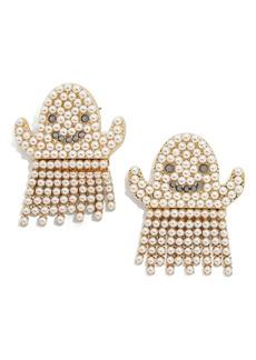 BaubleBar Ghost Fringe Earrings