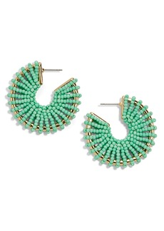 BaubleBar Giana Beaded Hoop Earrings