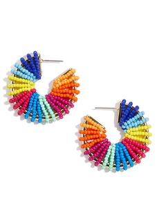 BaubleBar Giana Beaded Hoop Earrings