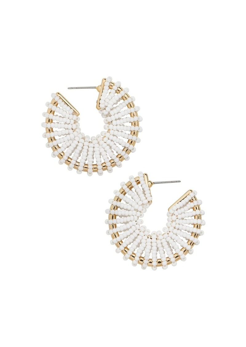 BAUBLEBAR Giana Hoop Earrings