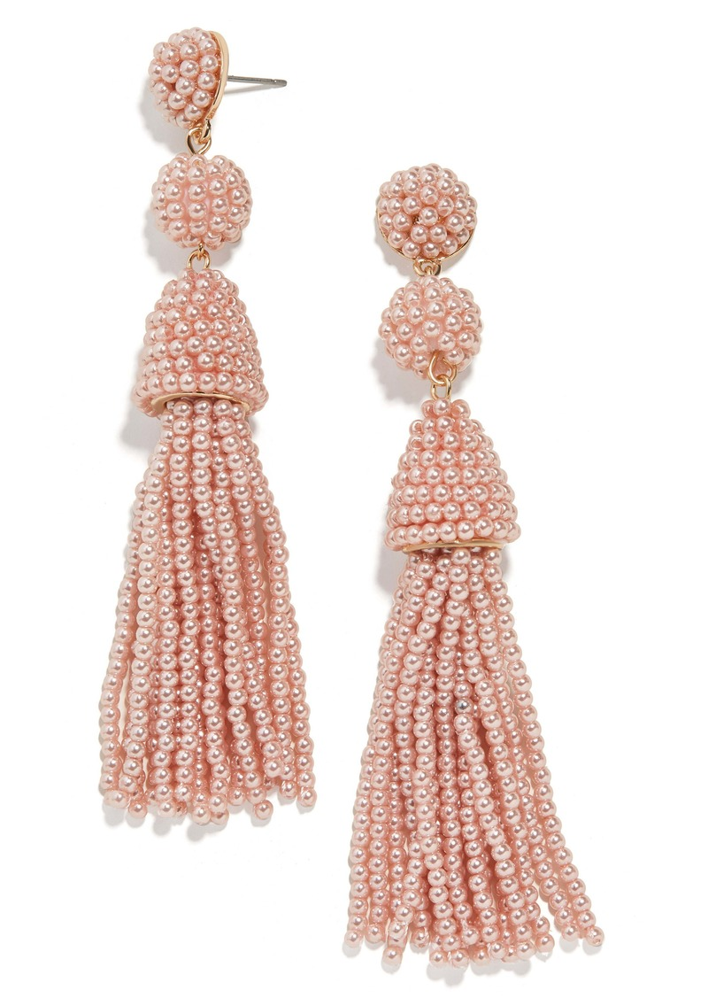 BaubleBar Granita Tassel Earrings