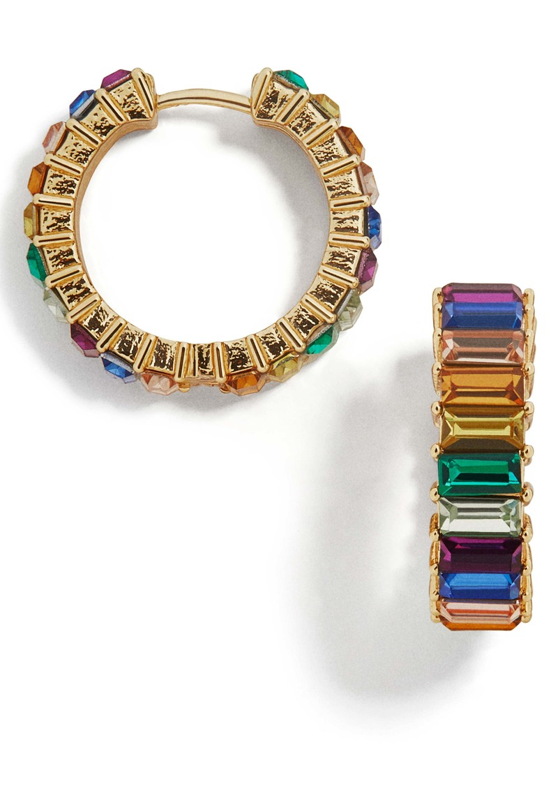Baublebar Halo Huggie Hoop Earrings