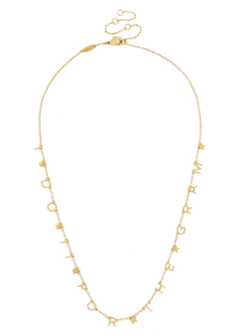 BaubleBar Hashtag Truth Everyday Fine Necklace