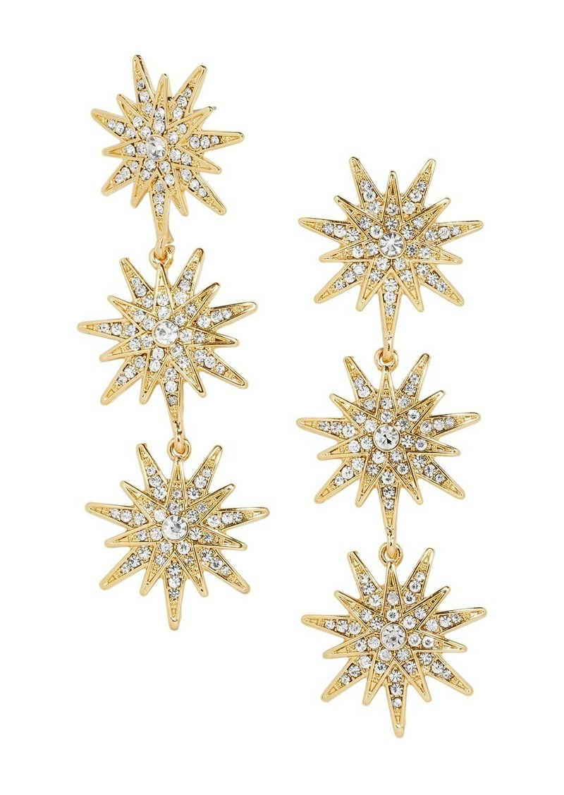 BAUBLEBAR Horizon Triple Starburst Drop Earrings