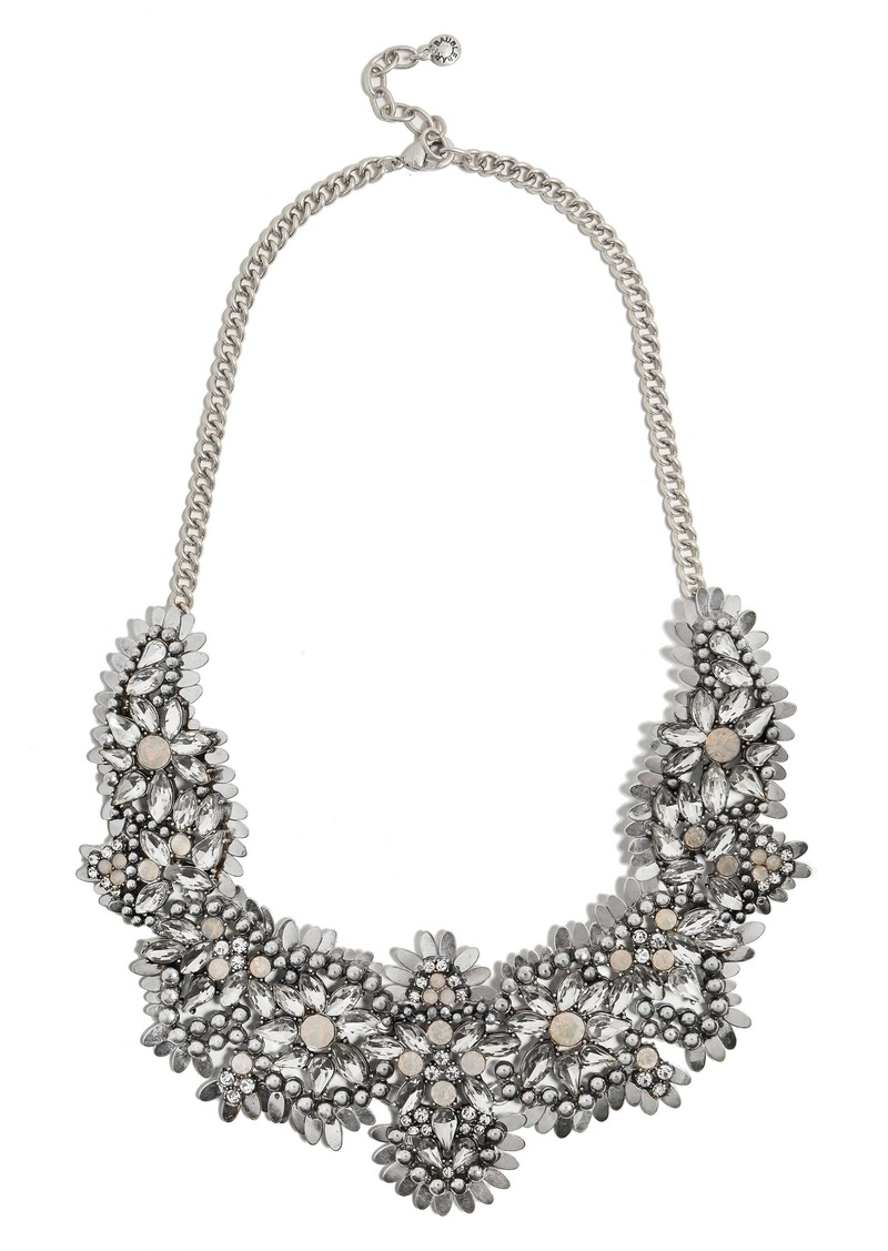 BaubleBar Ice Queen Crystal Statement Necklace