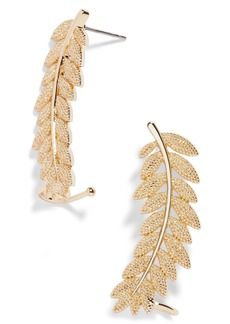 BaubleBar Iris Ear Crawlers