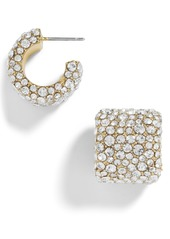 BaubleBar Jocelyn Huggie Earrings