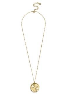 BaubleBar Journey Pendant Necklace