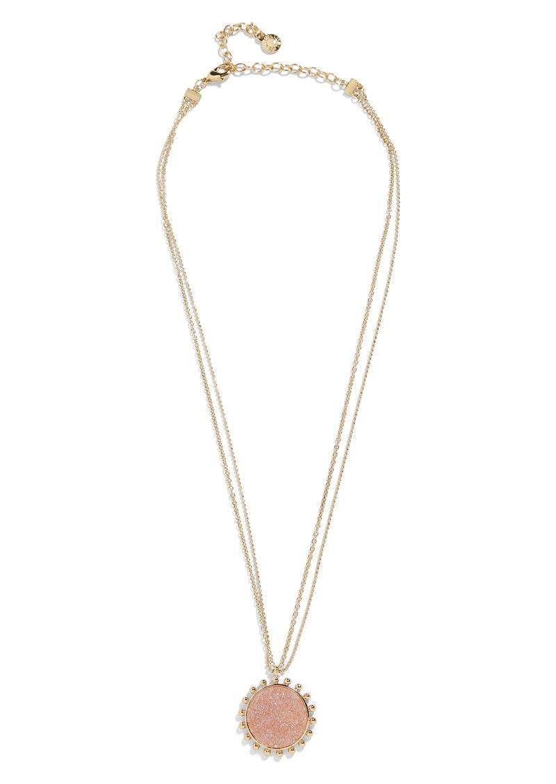 Kerison Drusy Pendant Necklace