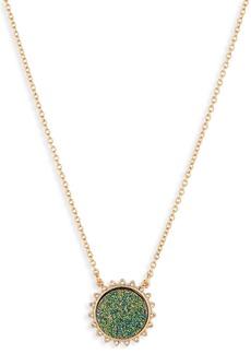 BaubleBar Ketina Drusy Pendant Necklace