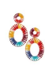 BAUBLEBAR Kiera Raffia Statement Earrings