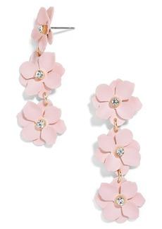 BaubleBar Kimi Flower Drop Earrings