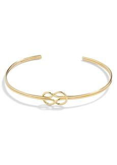 BaubleBar Knot Cuff Bracelet