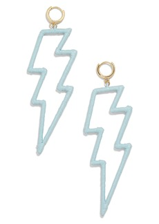 BaubleBar Lightning Bolt Drop Earrings