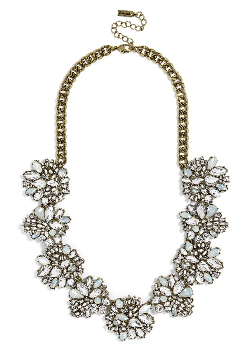 BaubleBar Lissandra Crystal Statement Necklace