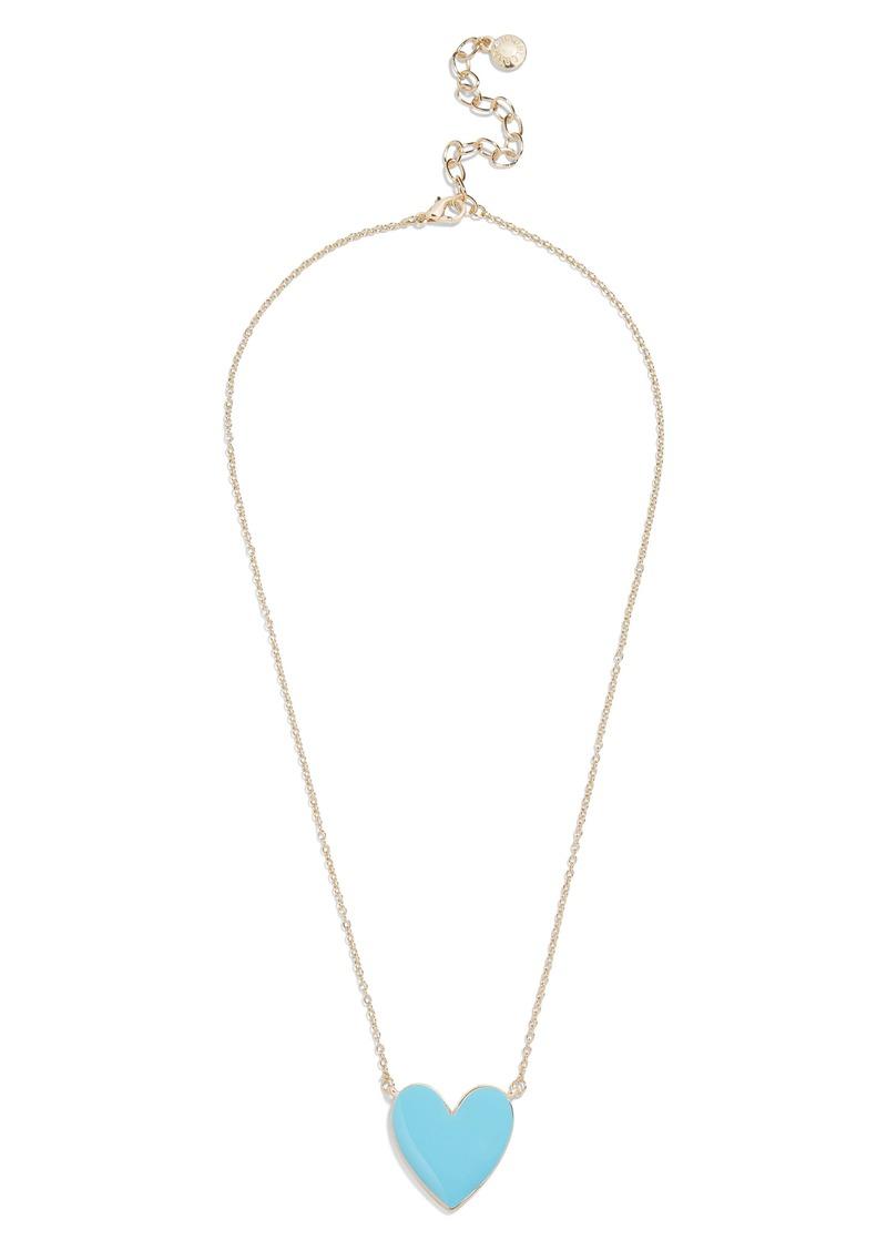 BaubleBar Maeva Heart Pendant Necklace