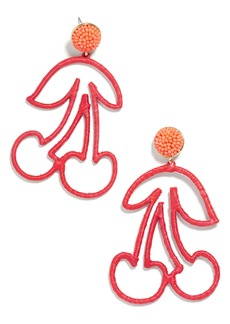 BaubleBar Maraschino Drop Earrings