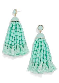 BaubleBar Margarita Beaded Tassel Earrings